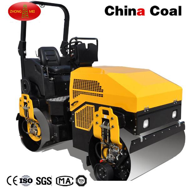 3 Ton Ride on Dual Wheel Full Hydraulic Construction Vibratory Road Roller