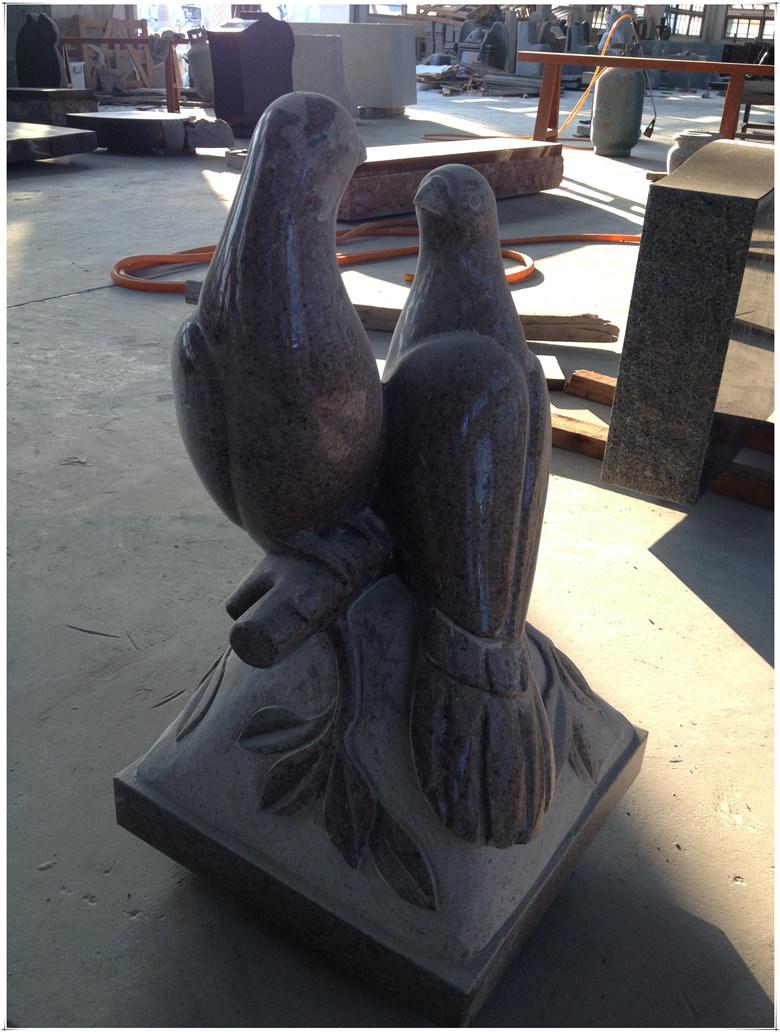 Peace Dove for Granite Pedestal Pedestal Urn Cremation Pedestal in The Cemetery Garden