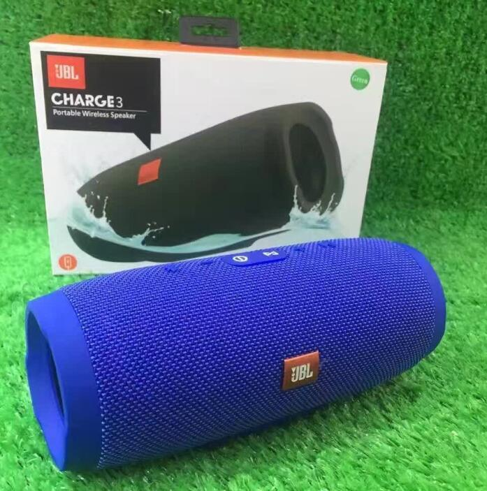Factory Wholesale Colors Waterproof Portable Bluetooth Jbl Charge 3 Speaker Top Quality Best Price