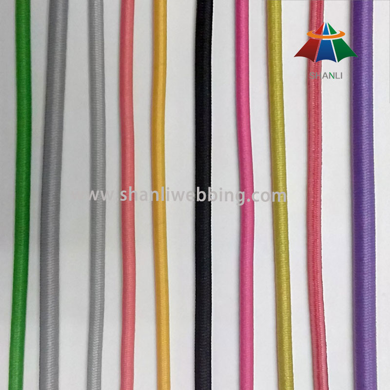 Solid Color Elastic Rope Cord, Bungee Cord