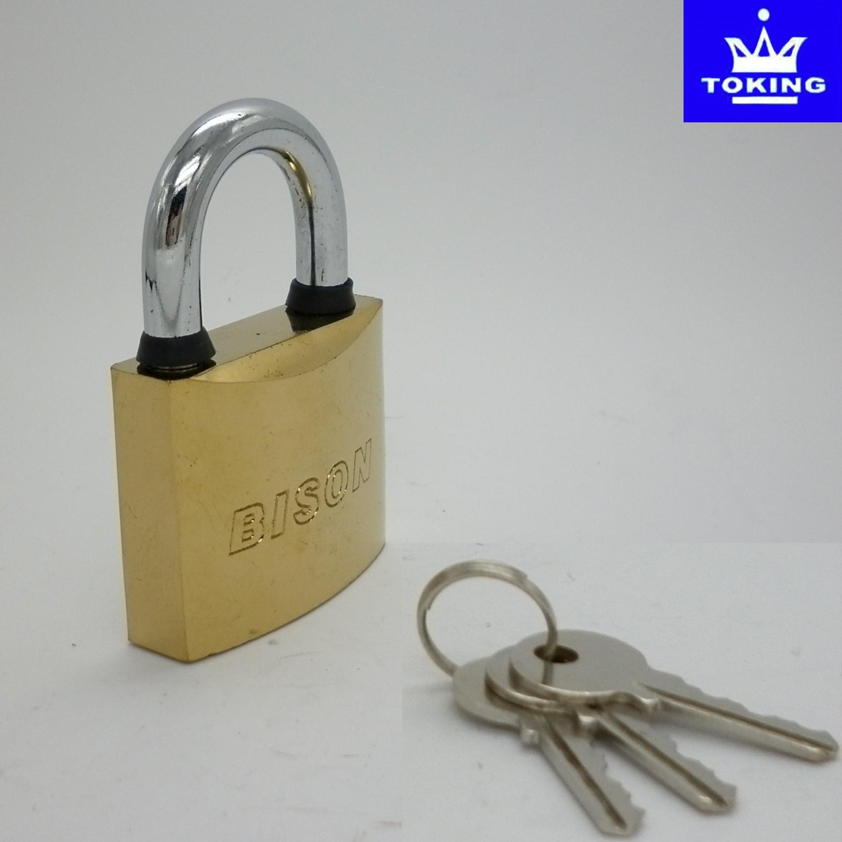 PVD Gold Plated Iron Padlock (1108)