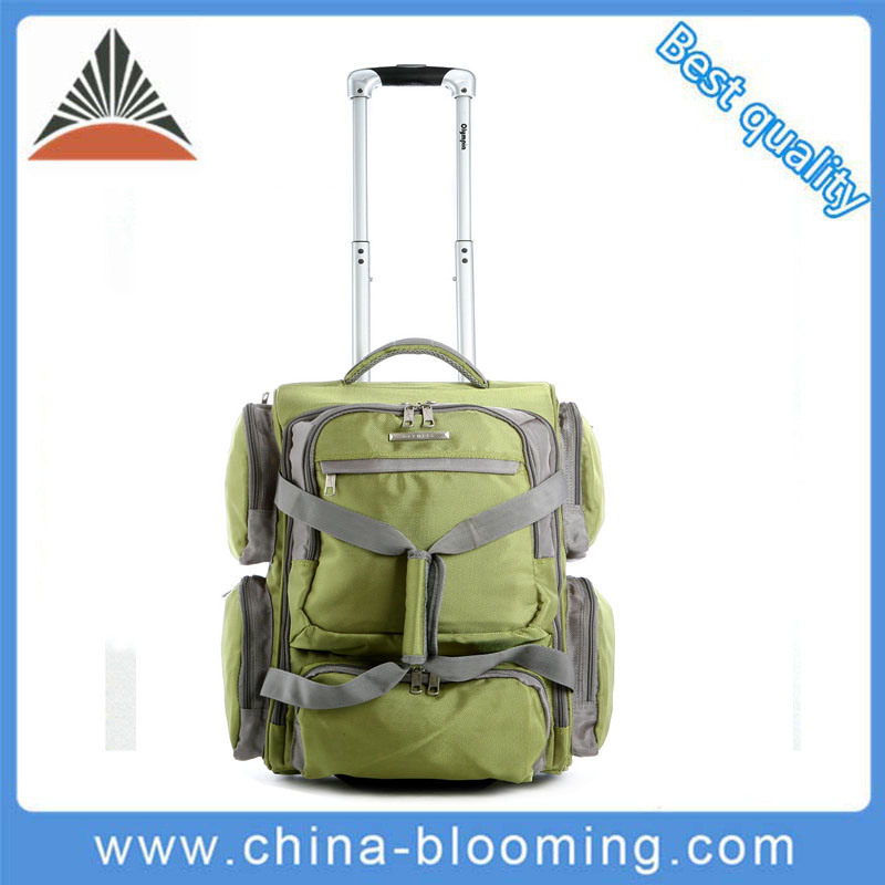 Outdoor Sports Travel Trolley Wheeled Holdall Luggage Suitcase Bag