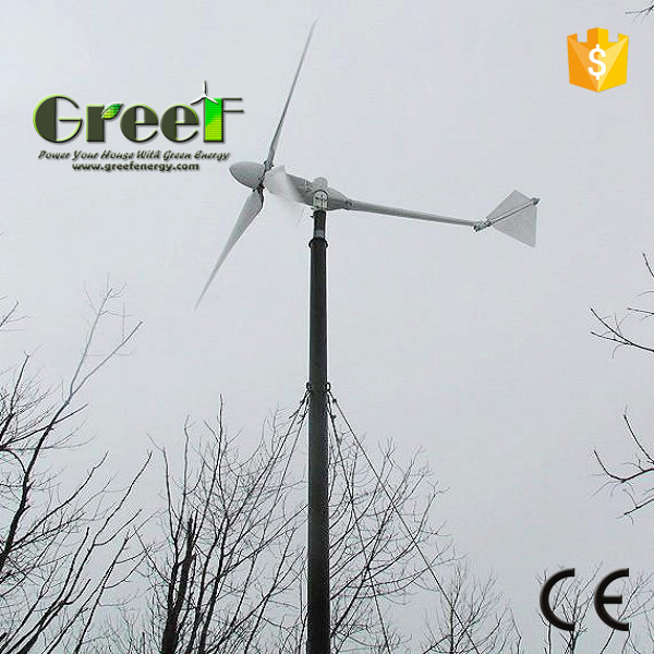 10kw Horizontal Wind Turbine with Low Start Wind Speed