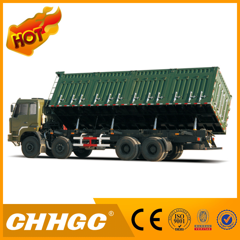 ISO CCC Approved Side Dumping 4axle Tipper Truck