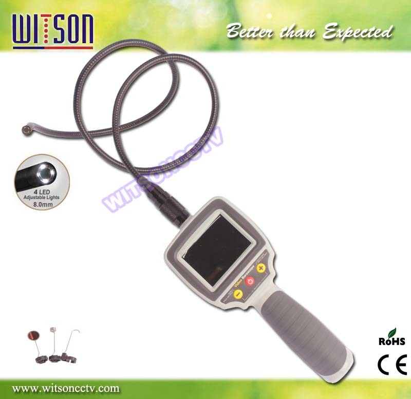 Witson 2.7′′ HD LCD Display Industrial Endoscope Camera W3-CMP2813X