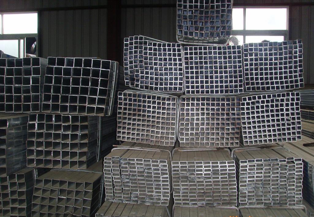 Galvanized Square Steel Pipe, Steel Pipe
