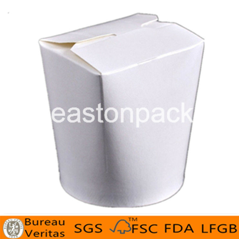 26oz Disposable Take Away Round Bottom Paper Noodle Box