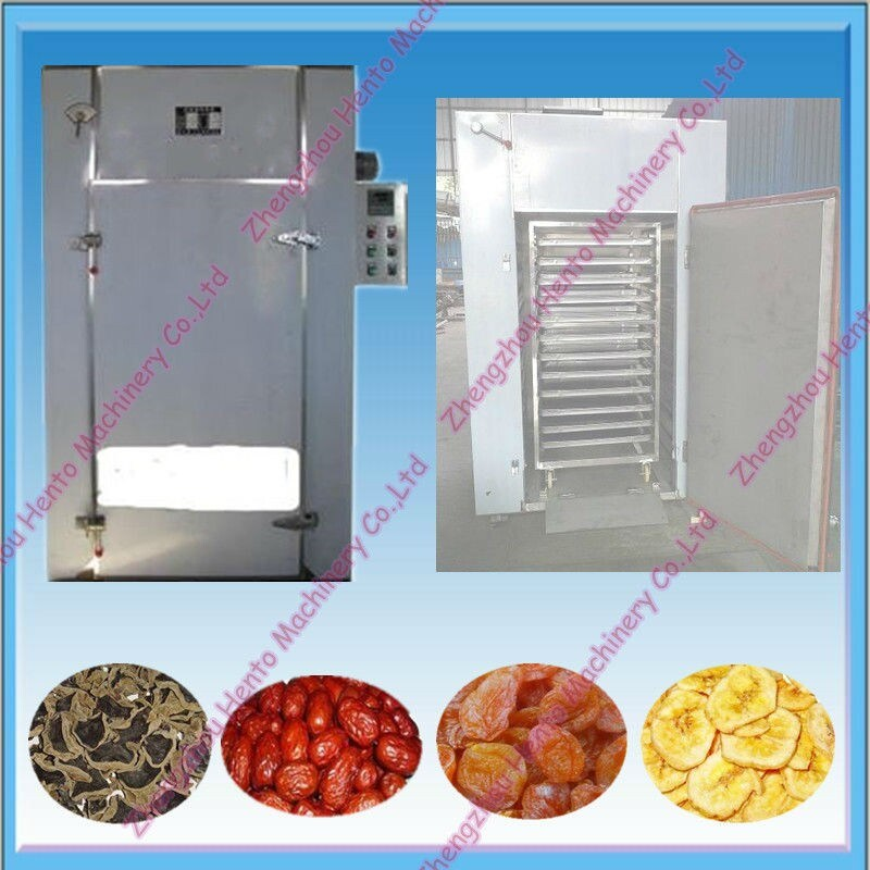Hot Air Industrial Fruit Dryer Dehydrator Dewater Machine