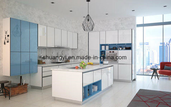 Melamine Chipboard Modular Kitchen Cabinet