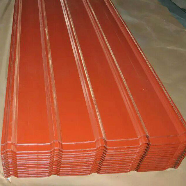 0.17mm Sgch Galvanized Corrugated Steel Roofing Sheet in Coil