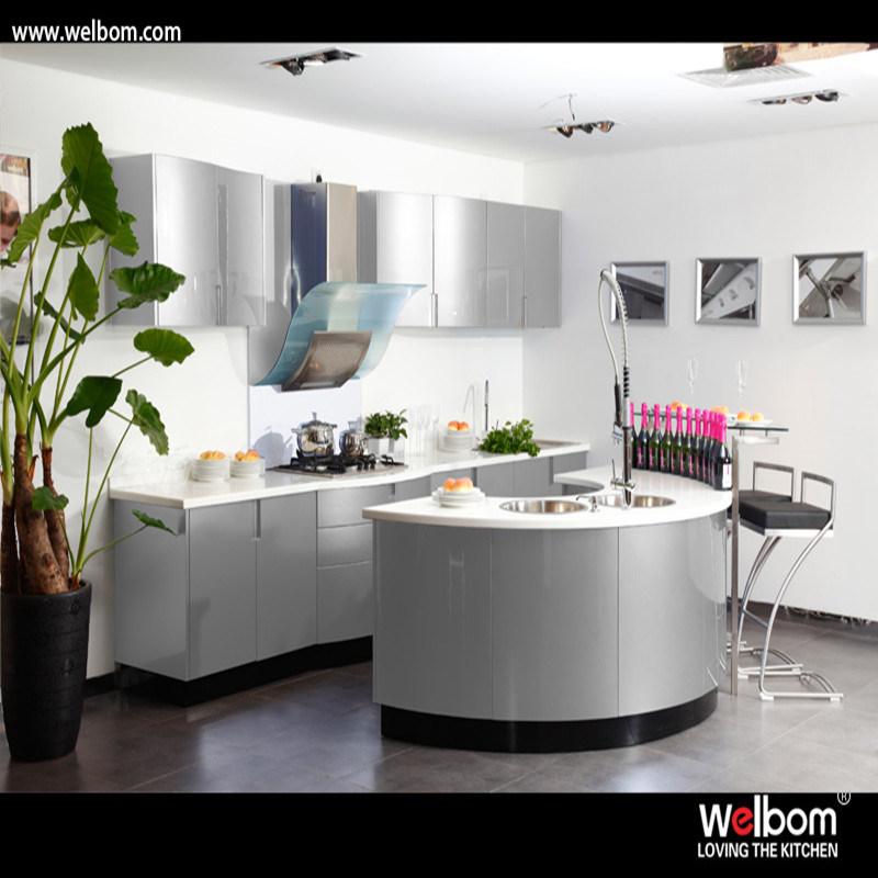 China 2016 Welbom One Piece Marble Granite Apartment Kitchen Unit   China  Modern Kitchen Design, Kitchen Cabinets
