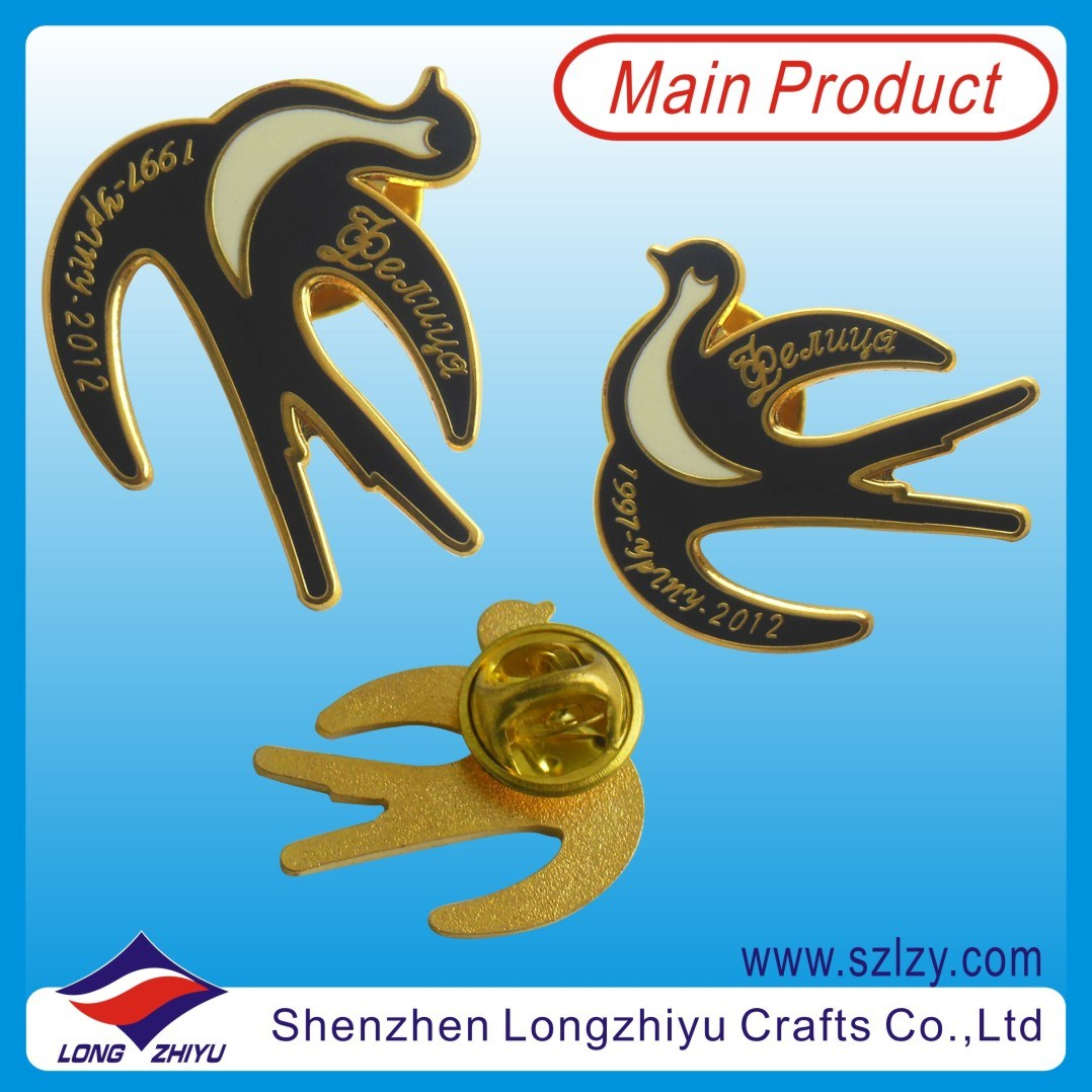 Fashion Hard Imitation Enamel Cloisonne Badge Pin (LZY-10000139)