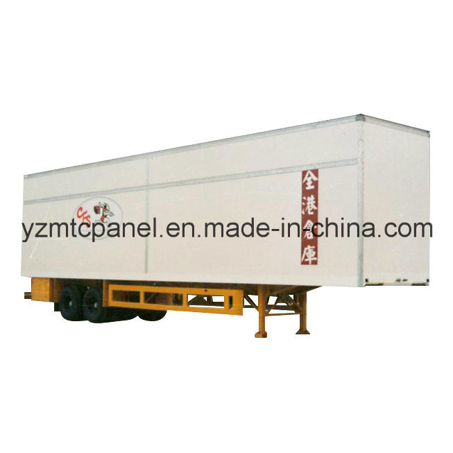 Ultrahigh Semi Trailer Body with FRP Composite Panel