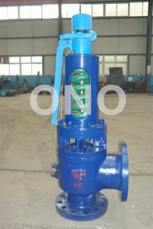 Spring Loaded Low Lift Type Lever Stainless Steel Safety Valve