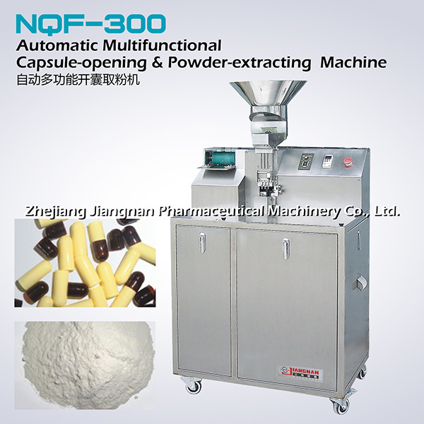 Automatic Capsule-Opening & Powder-Extracting Machine (NQF-300)