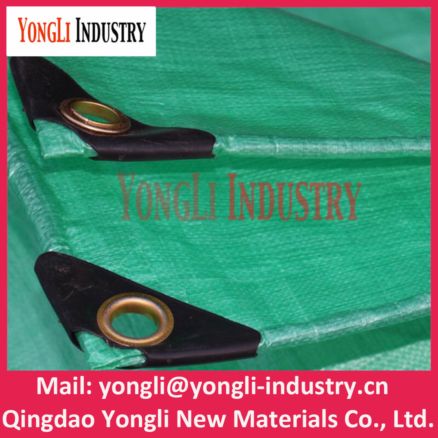 China Tarps HDPE Woven Laminated PE Tarpaulin