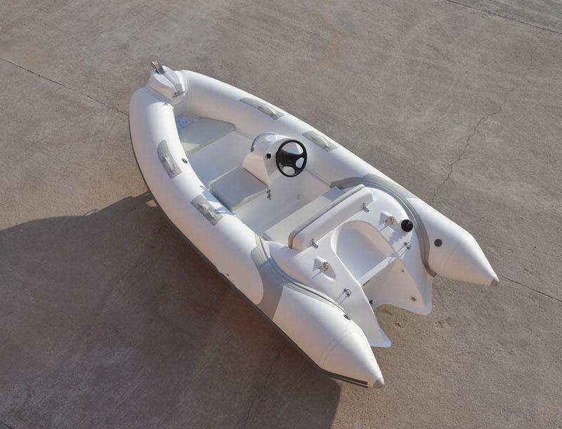 Liya Pontoon Boat 3.8m PVC Fishing Dinghy Boat Rib Sale