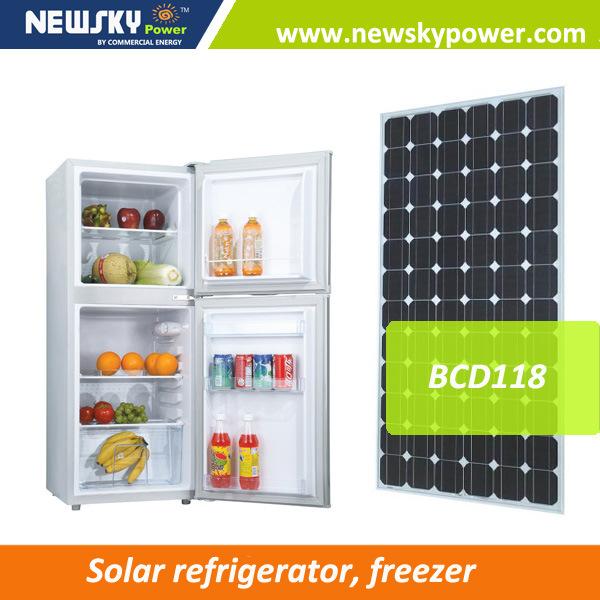High Performance 118L Solar Refrigerator