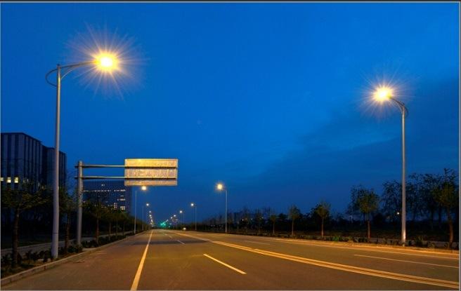 40W-110W 130lm/Watt LED Street Light / Streetlight UL TUV Certification