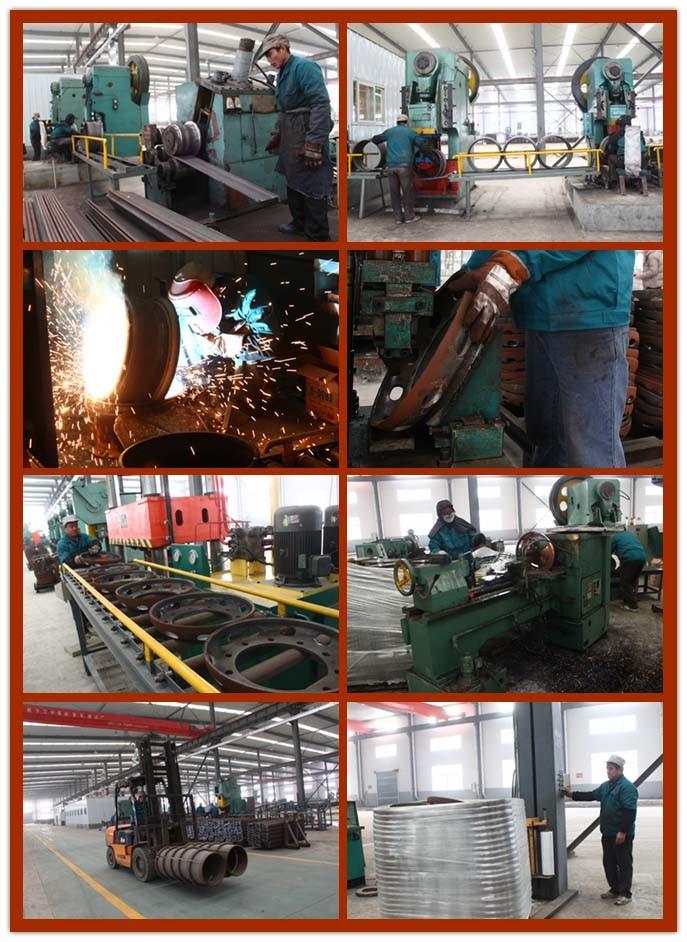 Tube Steel Wheel Zhenyuan Auto Wheel (6.50-16)
