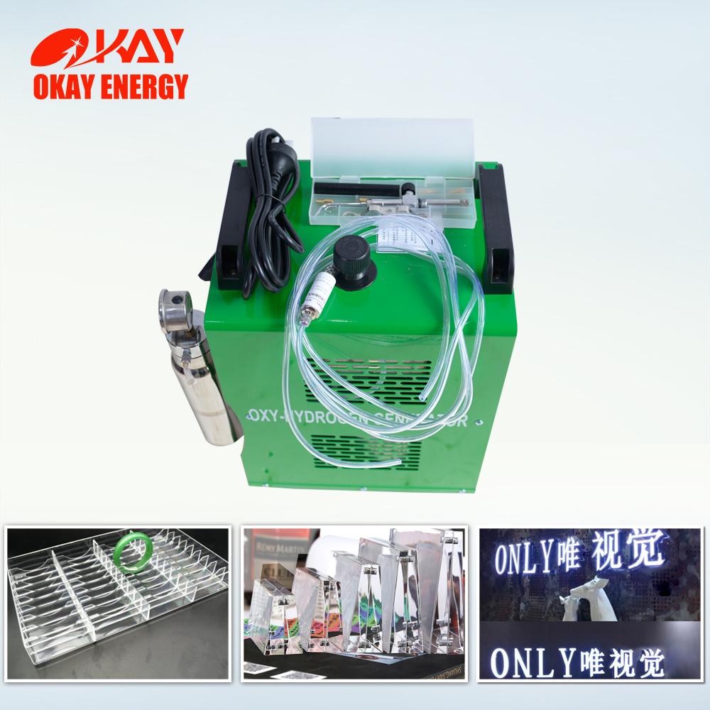 Hho Acrylic Flame Polishing Machine Oxy Hydrogen Generator Welding