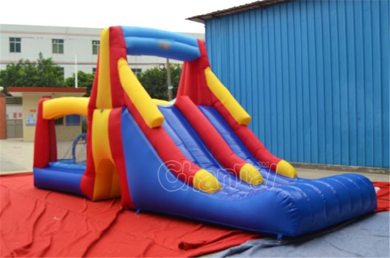 Residential Inflatable Water Slide (QW105)