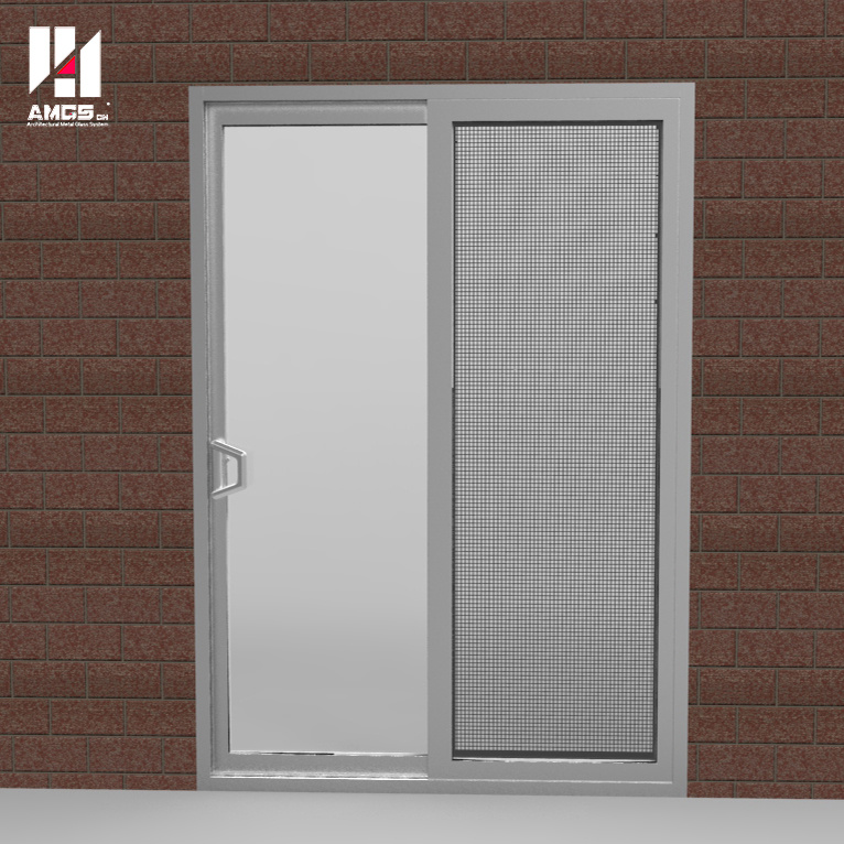 Sliding Door with Single or Double Glazing