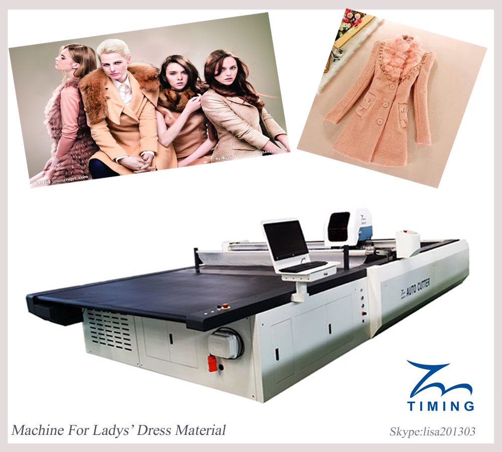 Computerized Multi-Ply Fabric Cutting Machine Computerized Cloth Auto Cutter Spreading Machine Available