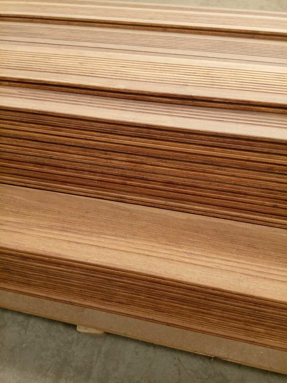Carbonized Color Bamboo Bathroom Flooring