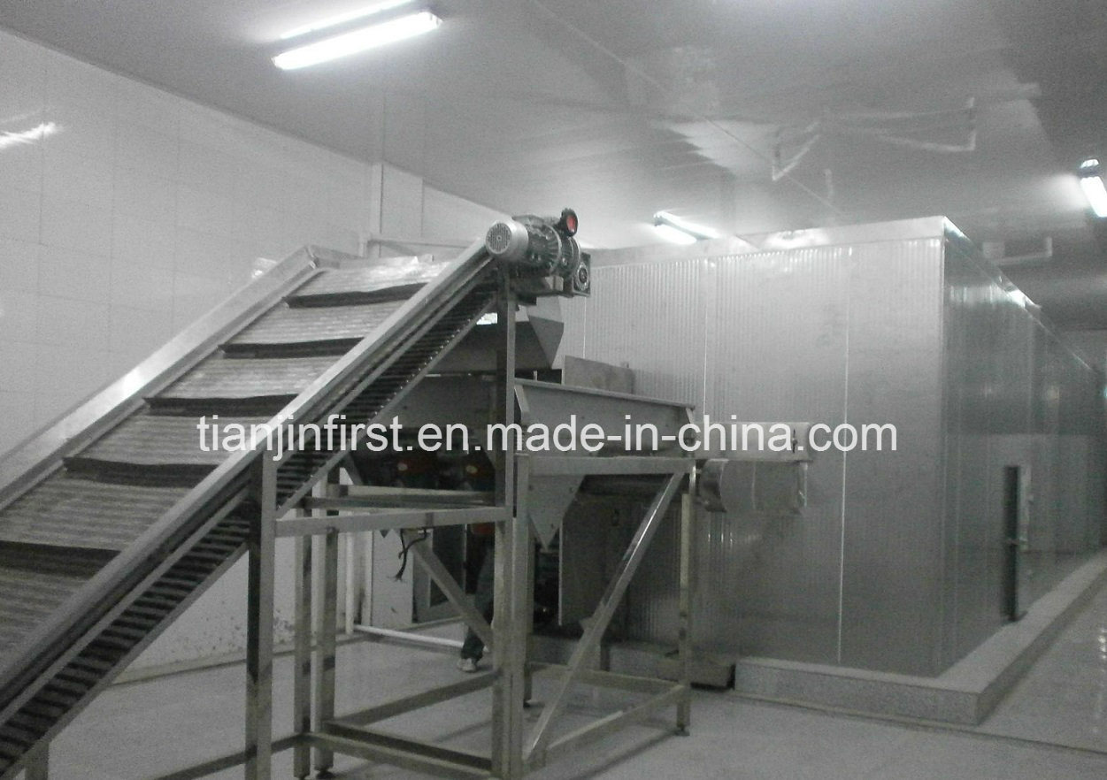 Refrigeration Equipment Fluidized Quick Freezing