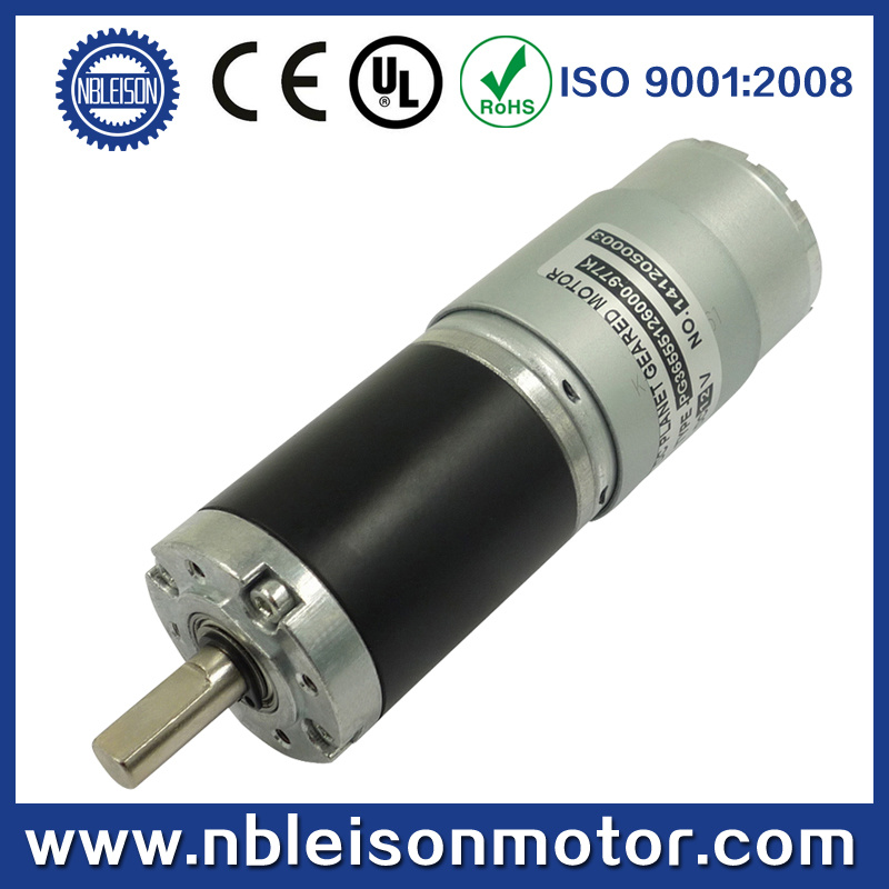 36mm 12V 24V Electric DC Planetary Gear Motor