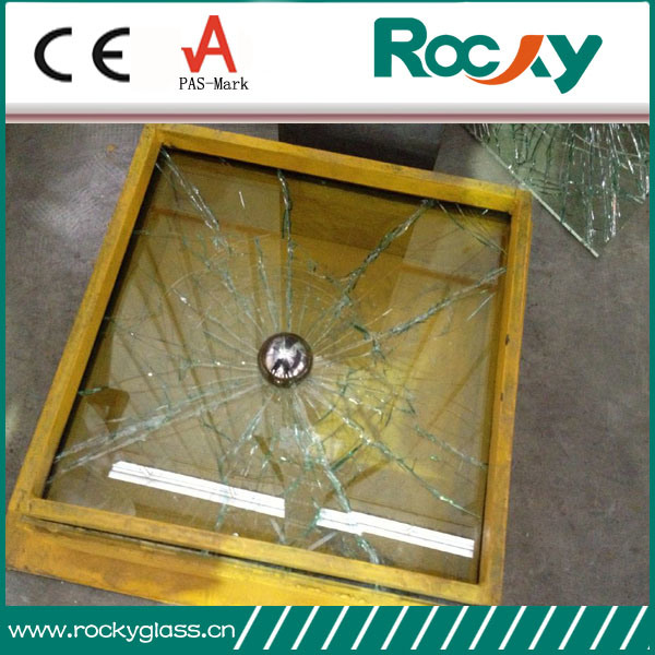 10.38mm Clear Laminated Glass for Window and Door
