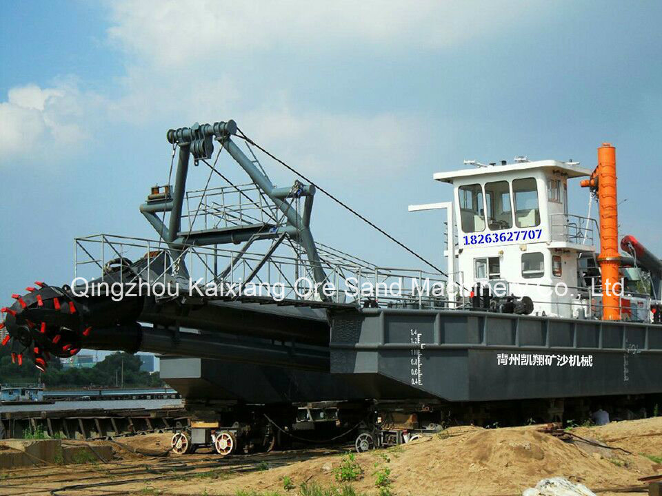 Wsd-200 Hydraulic Cutter Suction Dredger