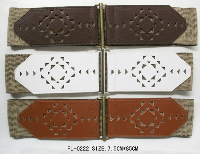 Perforated Belt of Elastic Fl-0222