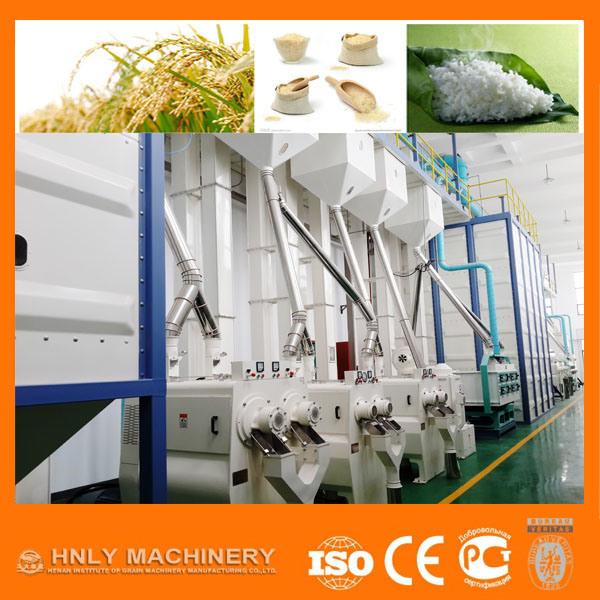 15-500t/24h Rice Milling Machine/Flour Mill