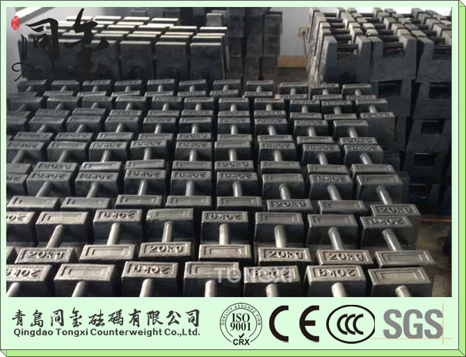 Cast Iron Weights Lock Test Weights 5kg 10kg 20kg Counter Weight