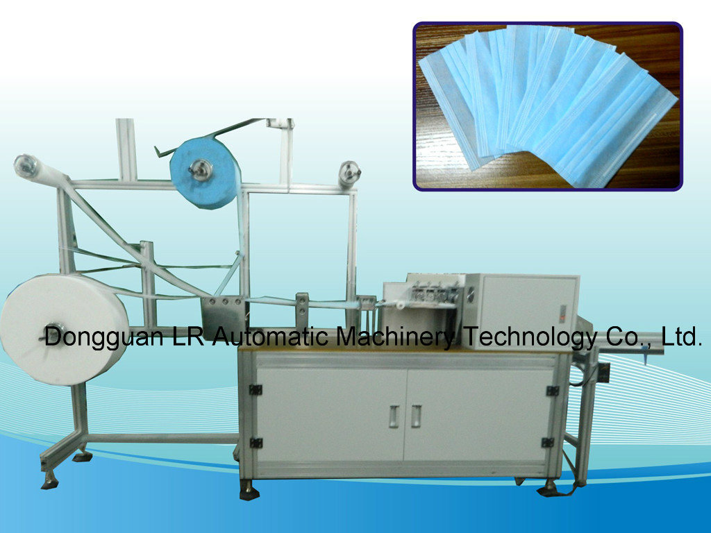LR01B Disposable Surgical Nonwoven Blank Face Mask Making Machine