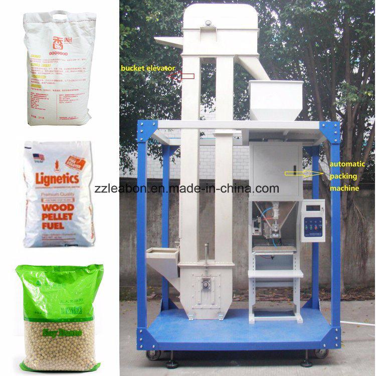 10-50kg/Bag Wood Pellet Packing Machine
