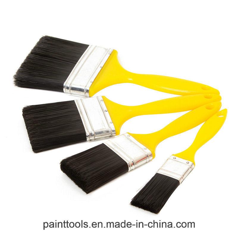 Beavertail Paint Brush with Plastic Handle B028