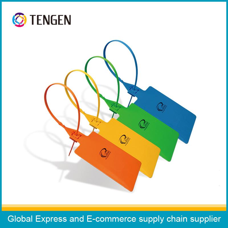 Adjustable Length Custom Printing Plastic Security Seals