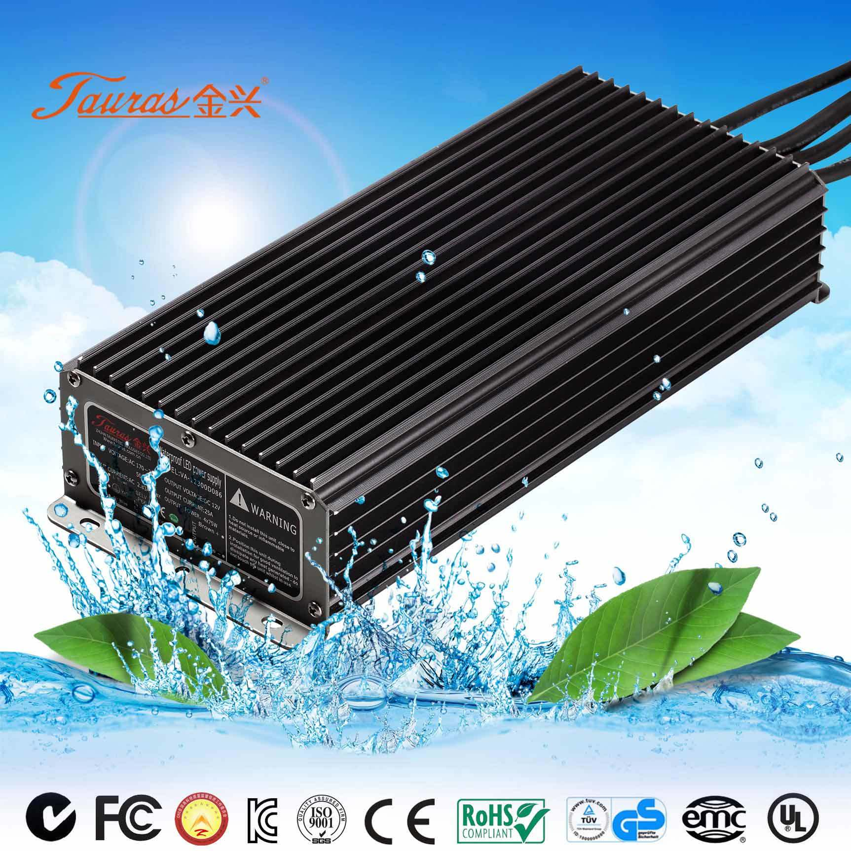 UL Approved 24V 40W Waterproof LED Driver