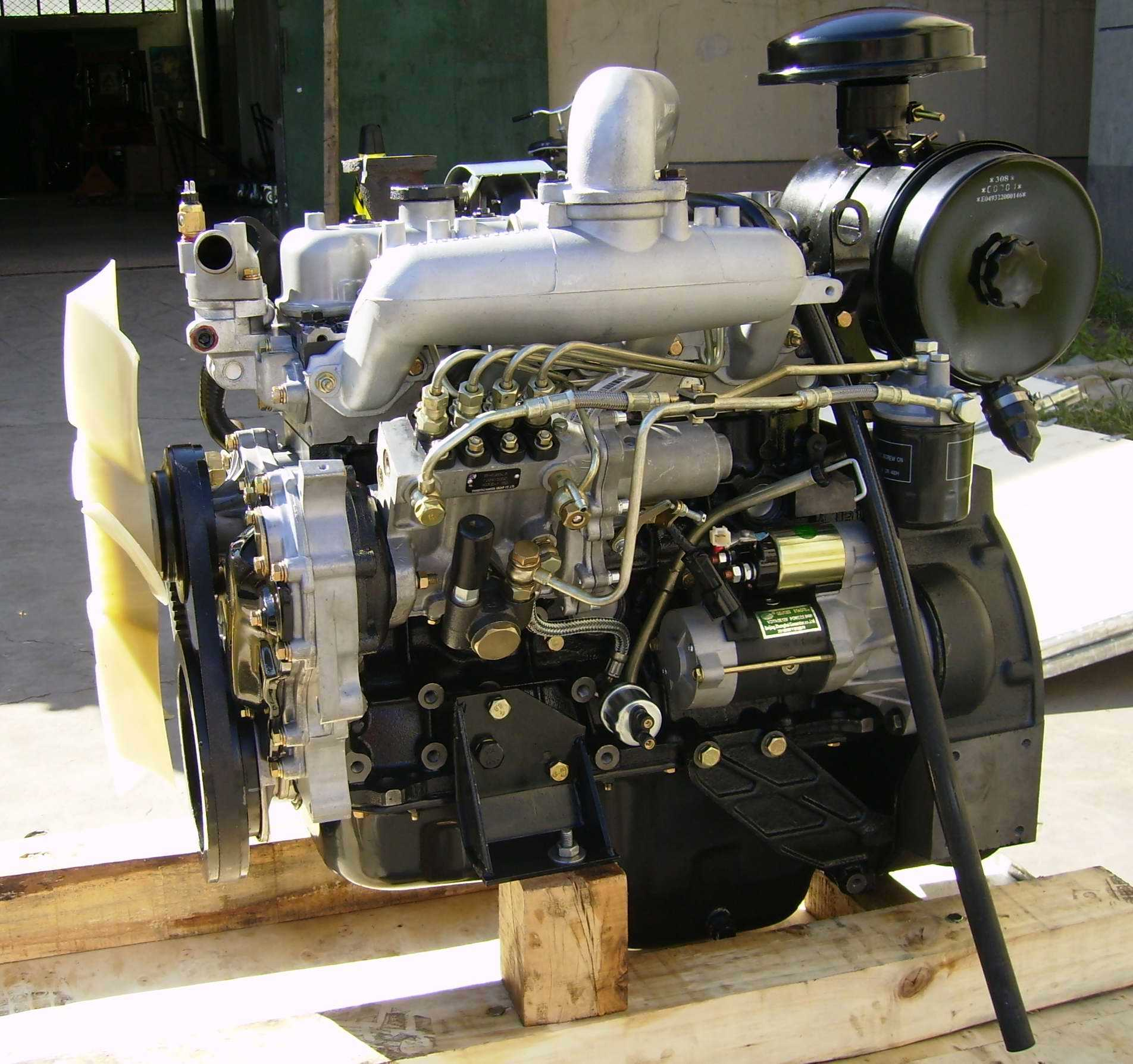 Isuzu Water Cooler Engine (4JB1, 4JB1T)