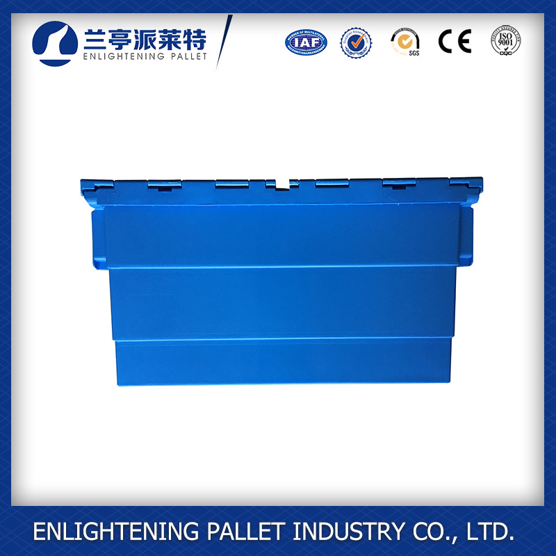 Solid Box Style and Plastic Material Plastic Crates