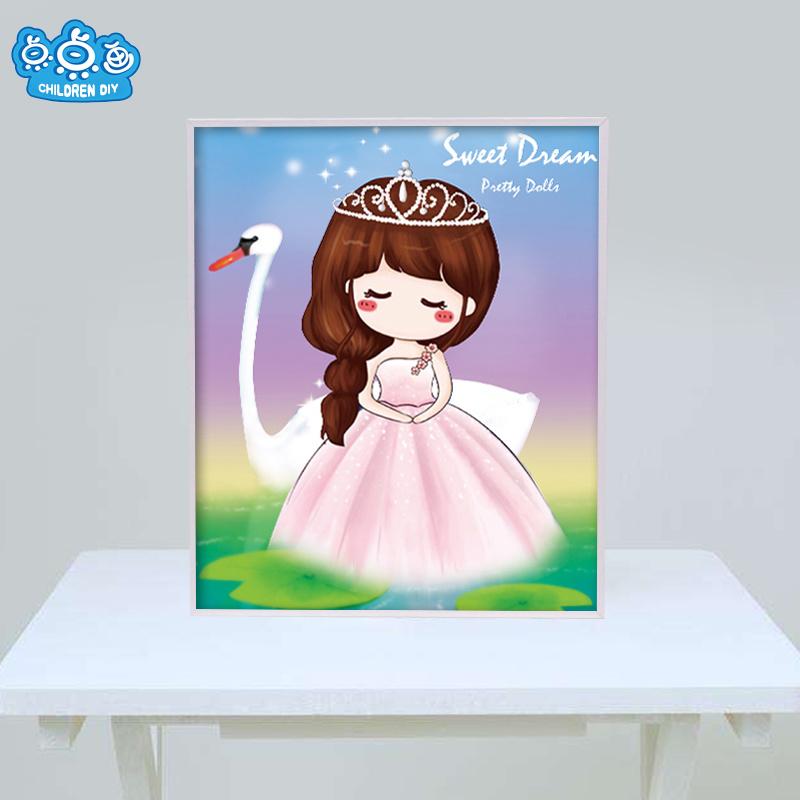 Factory Direct Wholesale Children DIY Craft Sticker Kids Gift K-031