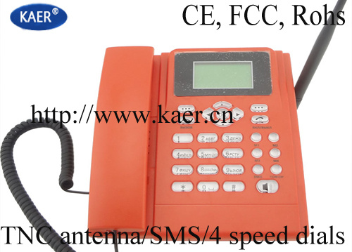 Desktop SIM Card GSM Fixed Wireless Phone (KT1000(130))