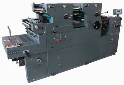 Two Colors Offset Press Printer