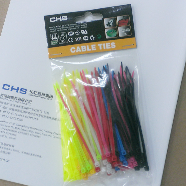 Cable Tie, Black, White, Colour, Self-Locking, Releasable