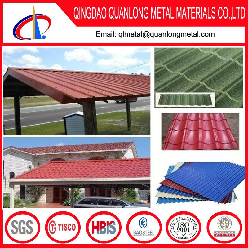 SGCC PPGI Prepainted Steel Corrugated Roofing Sheet