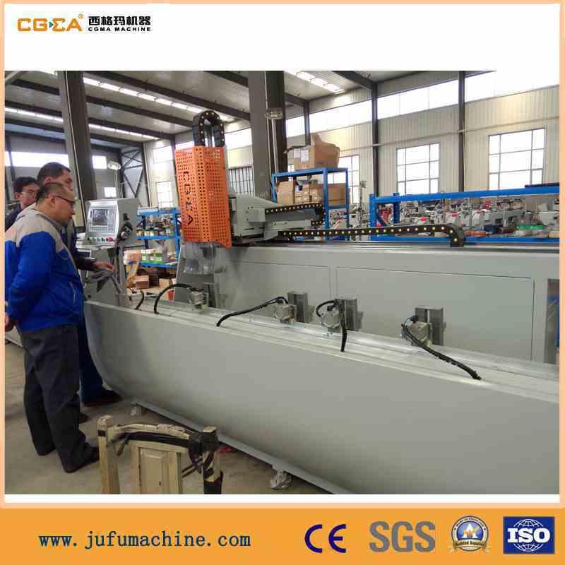 Drilling Milling Processing Aluminum Window Machine