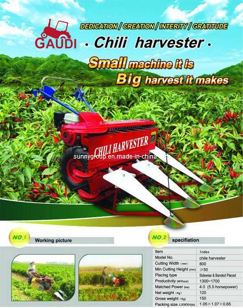 Chili Harvester (4G-80 harvester)